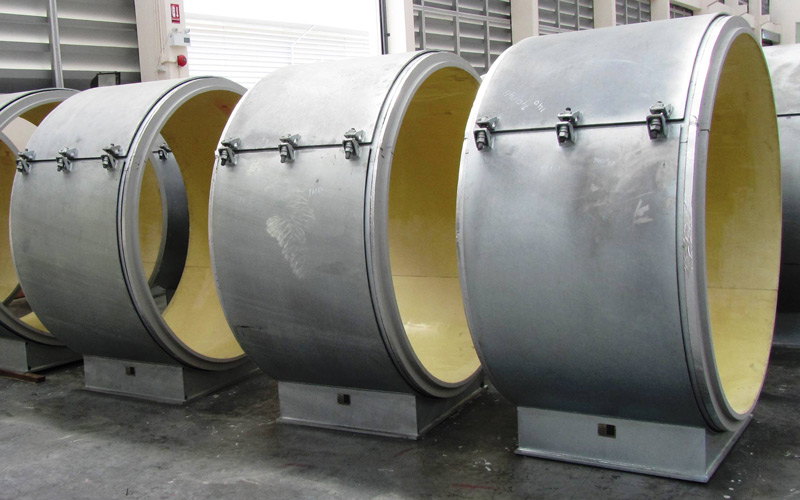 Carpenter and Paterson Asia - Cryogenic Supports Awaiting Shipment 1