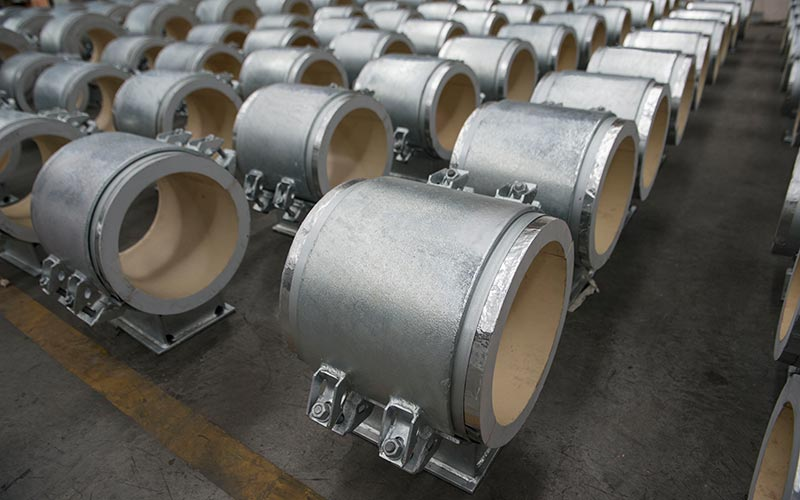 Carpenter and Paterson Thailand - Cryogenic Supports Awaiting Shipment 2