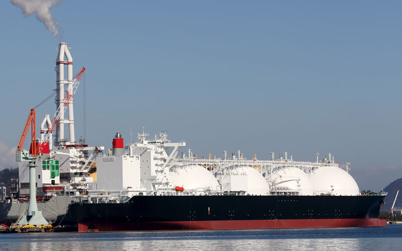 LNG - PLANTS, CARRIERS AND RECEIVING TERMINALS