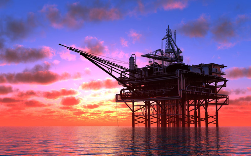 OFFSHORE OIL RIG - OIL AND GAS INDUSTRIES