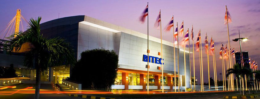 BITEC exhibition center Bangkok Thailand
